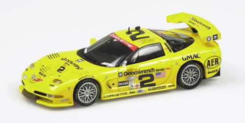 Die cast 1//43 Lola B2K40 Petit Le Mans 2002 by Top Model